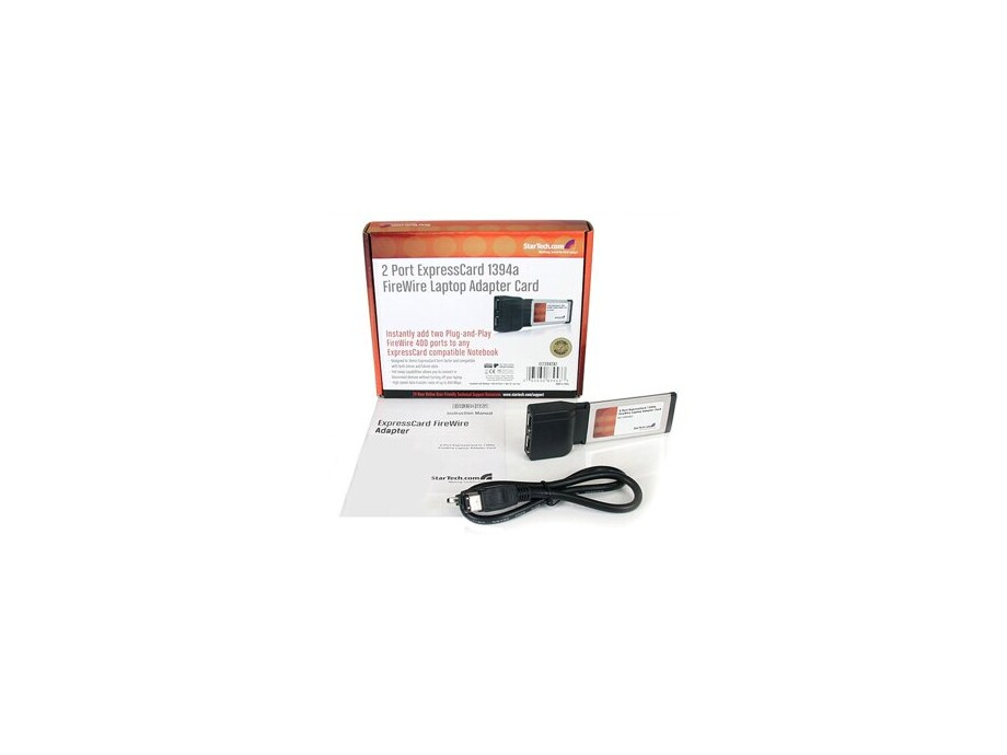 Kontrolieris 2 Port ExpressCard 1394a FireWire 0