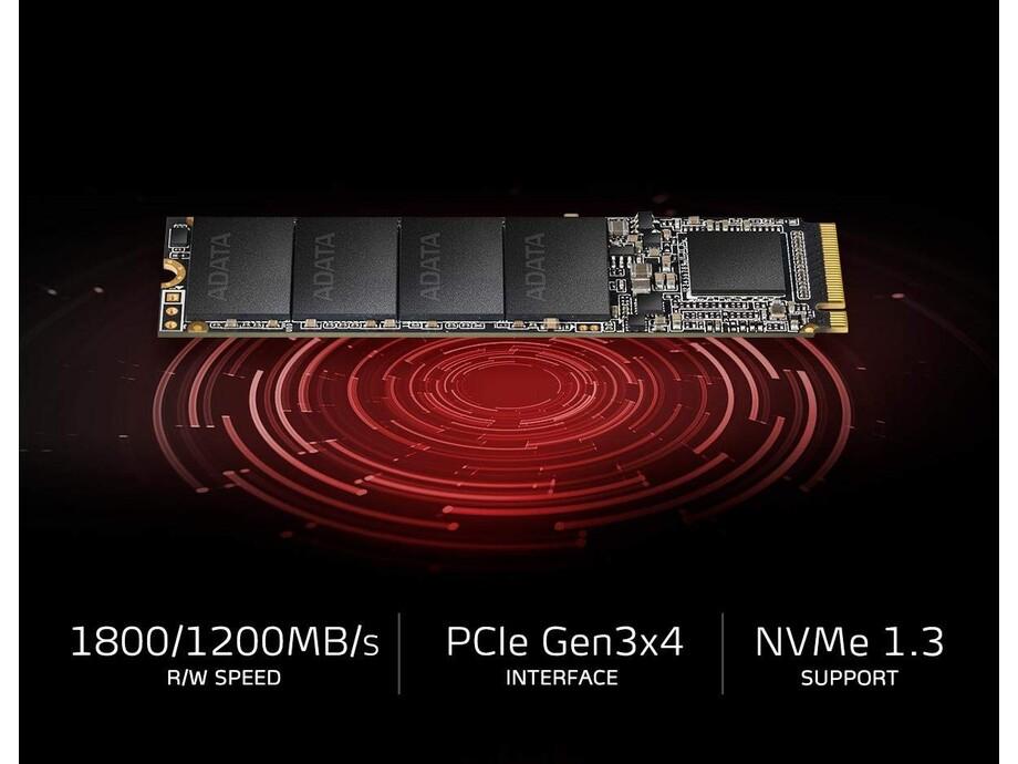 SSD 256GB - Adata XPG SX6000 Lite PCIe M.2 2280, R/W 1800/900 MB/s 3