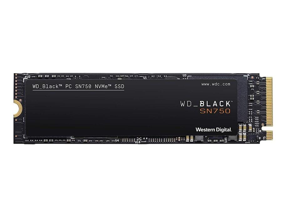 SSD 1TB - WD Black NVMe SN750 SSD 1TB M.2 PCI-E 3470/3000MB/s 3