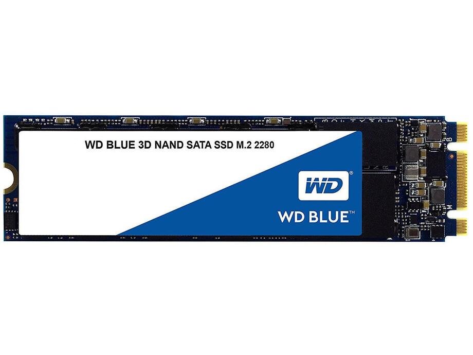SSD disks Western Digital 3D NAND, 250GB, M.2 2280, 550/525 MBytes/sec, SATA 0