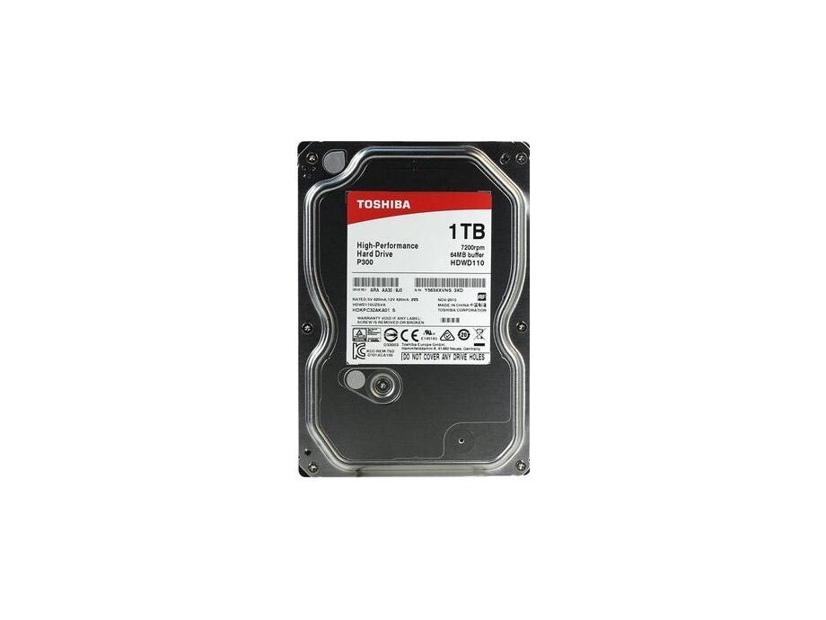 "Cietais disks 1TB - Toshiba P300 SATA3 3.5"" 7200RPM 64MB cache 2"