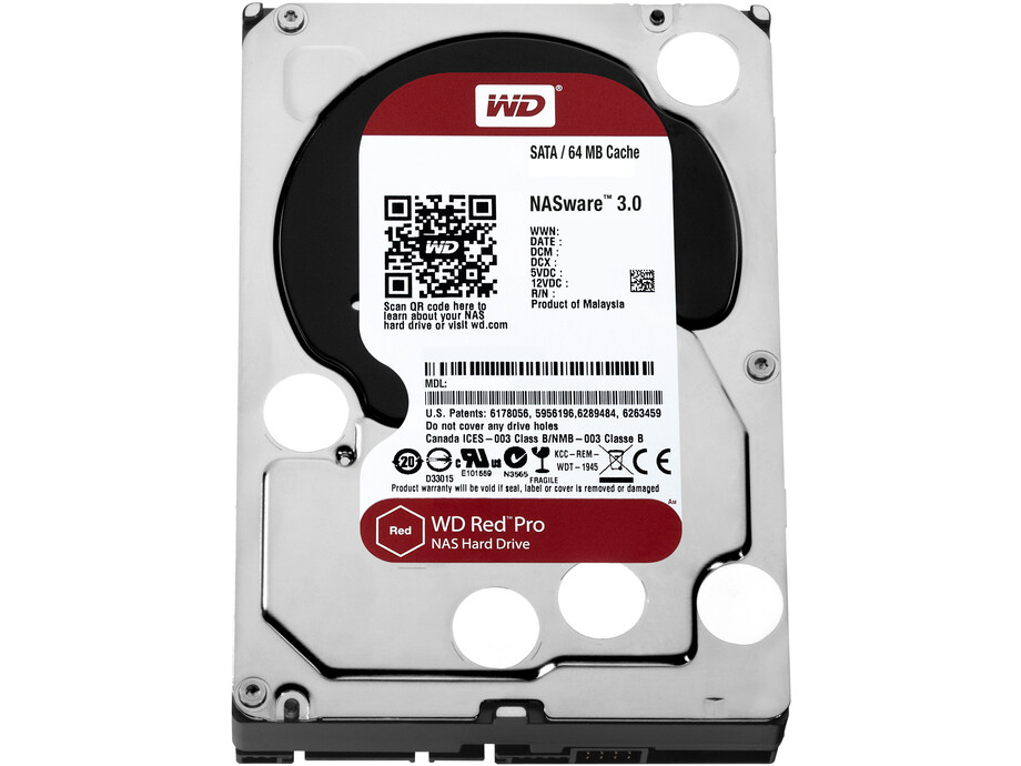 Cietais disks WD Red Pro 8TB SATA 6Gb/s 256MB Cache Internal 3,5inch 24x7 7200rpm 0