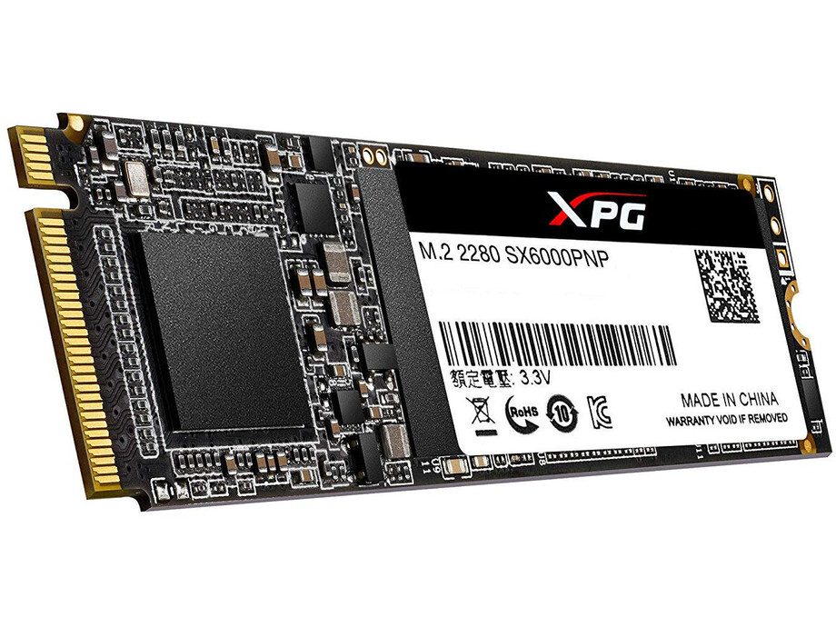 SSD 512GB - Adata XPG SX6000 Lite PCIe M.2 2280, R/W 1800/1200 MB/s 3