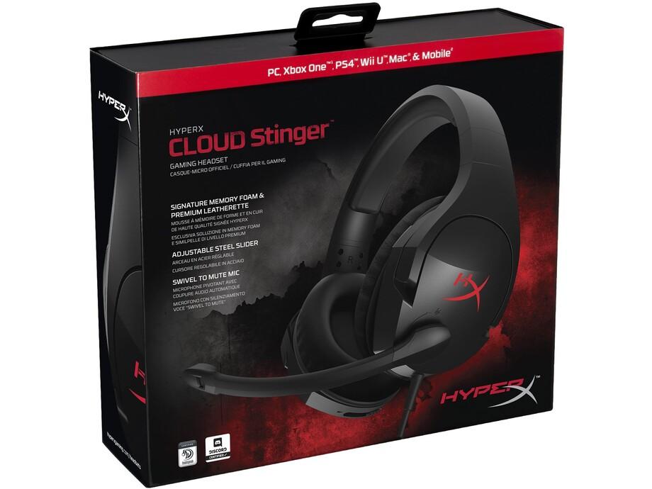 Austiņas Kingston HyperX Cloud Stinger - Gaming Headset (Black) 3