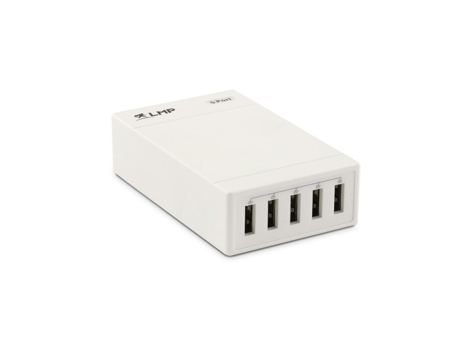 LMP SmartCharger 5 Port, charger iPhone, iPad, etc., 1