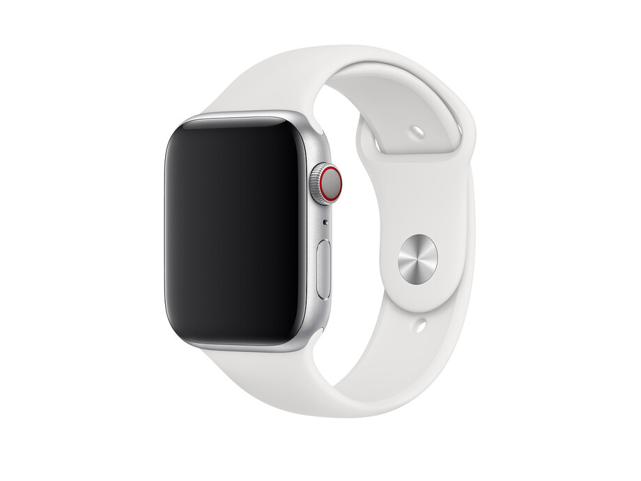 Siksniņa Apple Watch 44mm White Sport Band - Size S/L 2