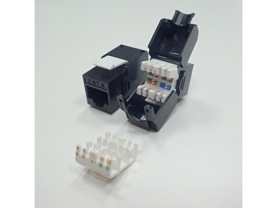 Netrack Keyston Jack Module 1xRJ45 8p8c, cat. 5e FTP, toolless 0