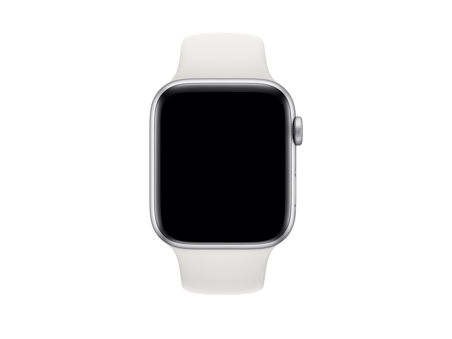 Siksniņa Apple Watch 44mm White Sport Band - Size S/L 1