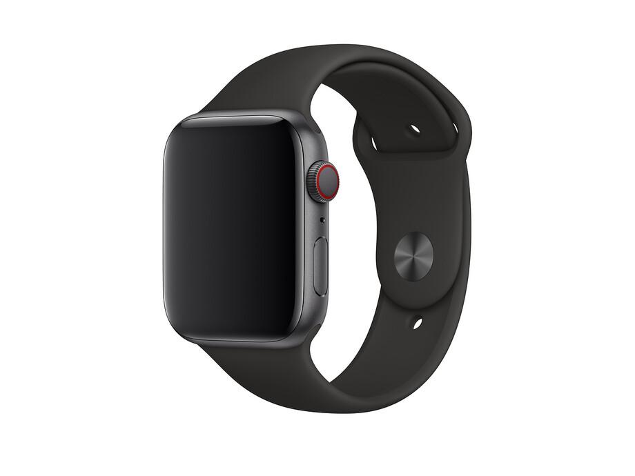 Siksniņa Apple Watch 44mm Black Sport Band - Size L/XL EOL 2