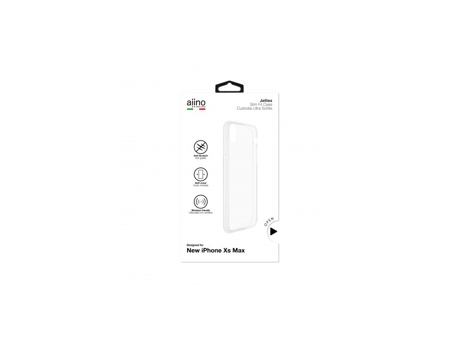 Aiino - Jellies Case iPhone XS Max - Clear 0
