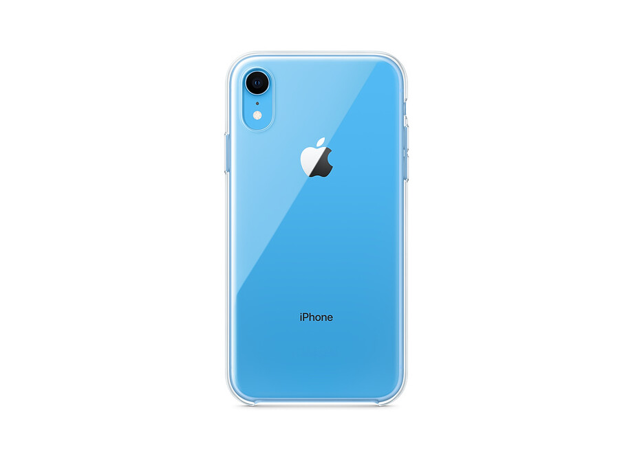 MRW62 iPhone XR Clear Case 1
