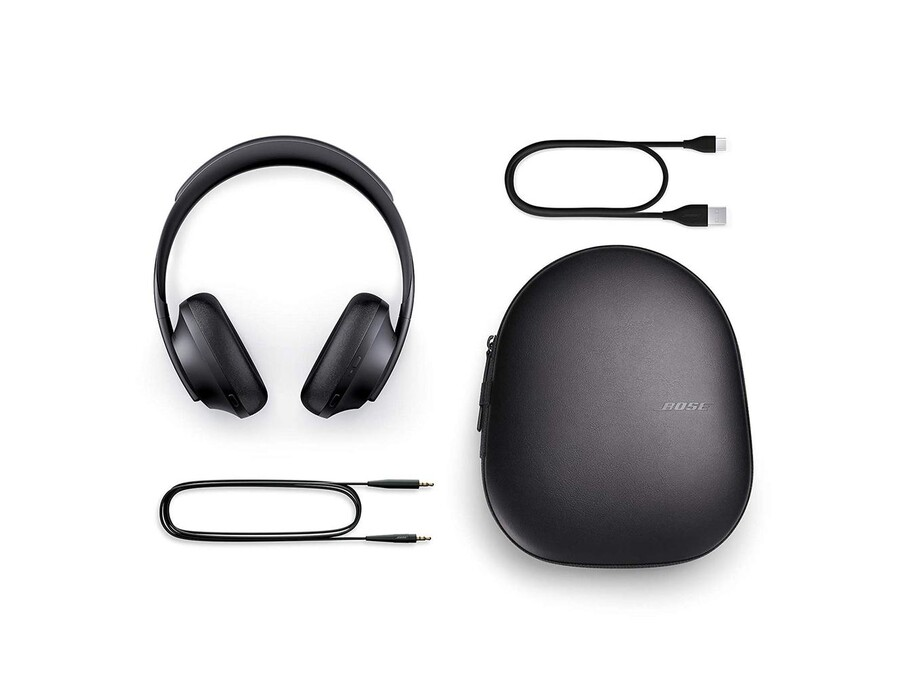 Bose Noise-Cancelling Headphones 700, Melnas 1