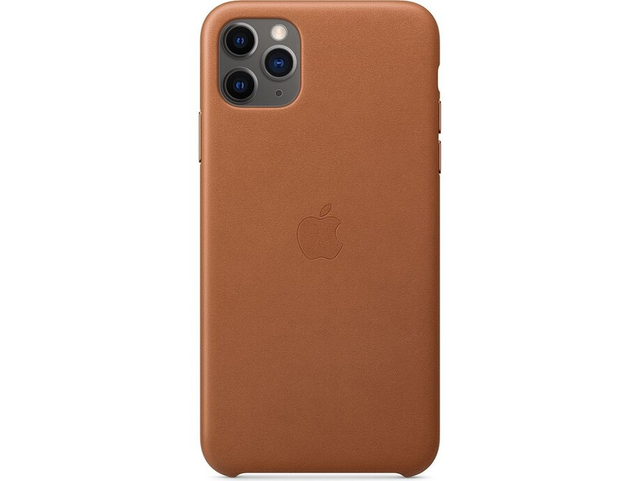 iPhone 11 Pro Max Leather Case - Saddle Brown 2