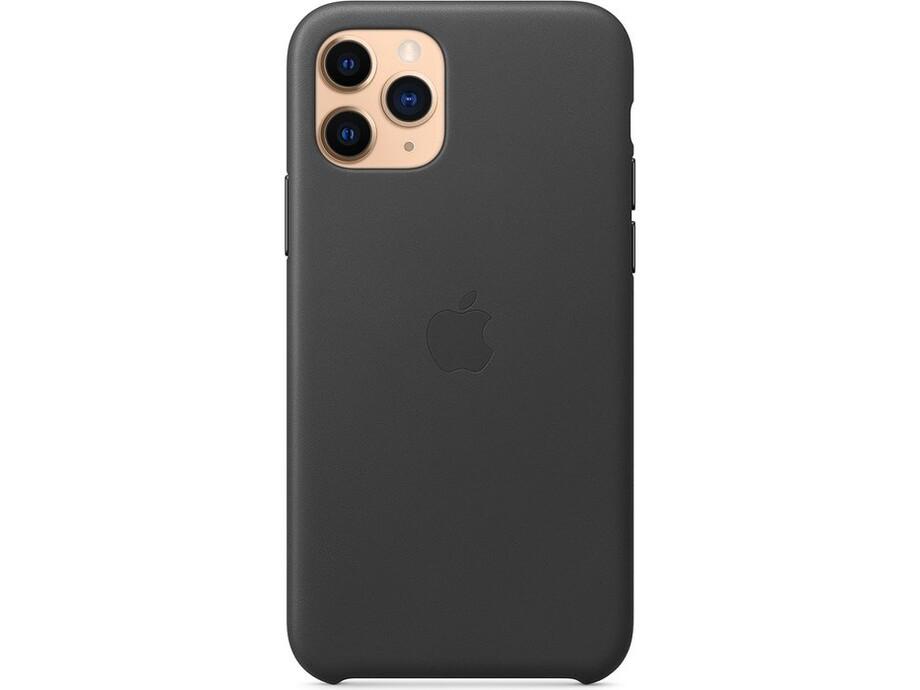 iPhone 11 Pro Leather Case - Black 0