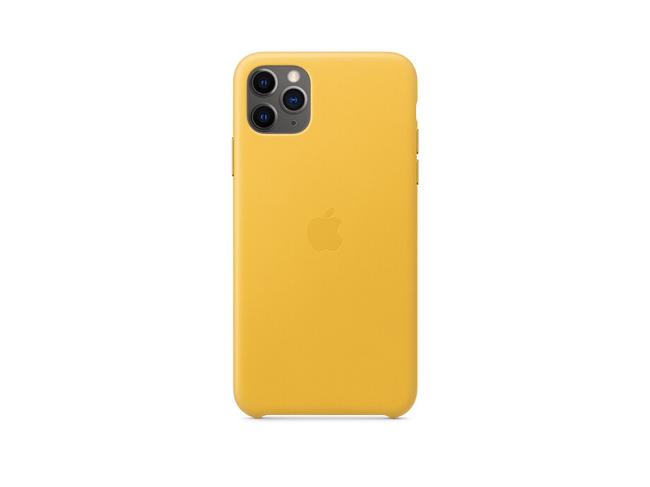 iPhone 11 Pro Max Leather Case - Meyer Lemon EOL 0