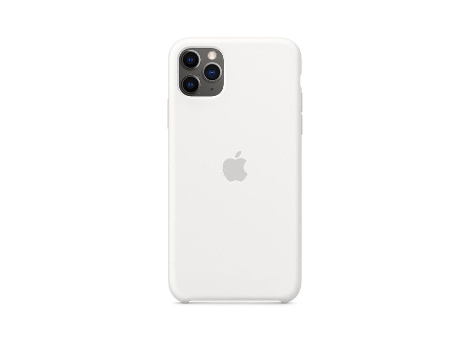 iPhone 11 Pro Silicone Case - White EOL 0