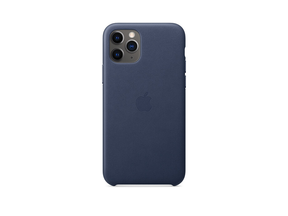 iPhone 11 Pro Leather Case - Midnight Blue 0