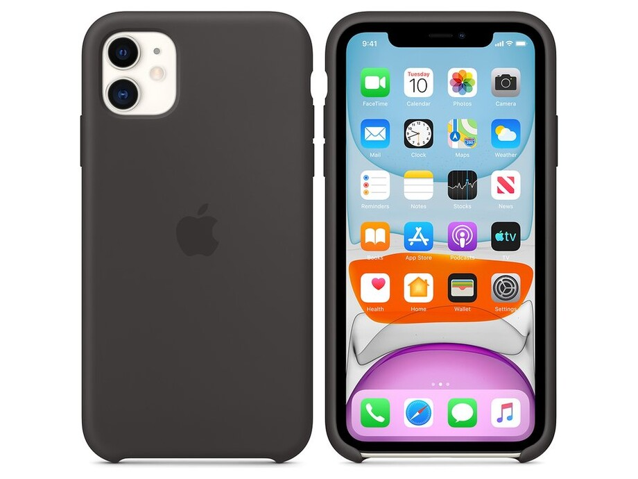 iPhone 11 Silicone Case - Black 0