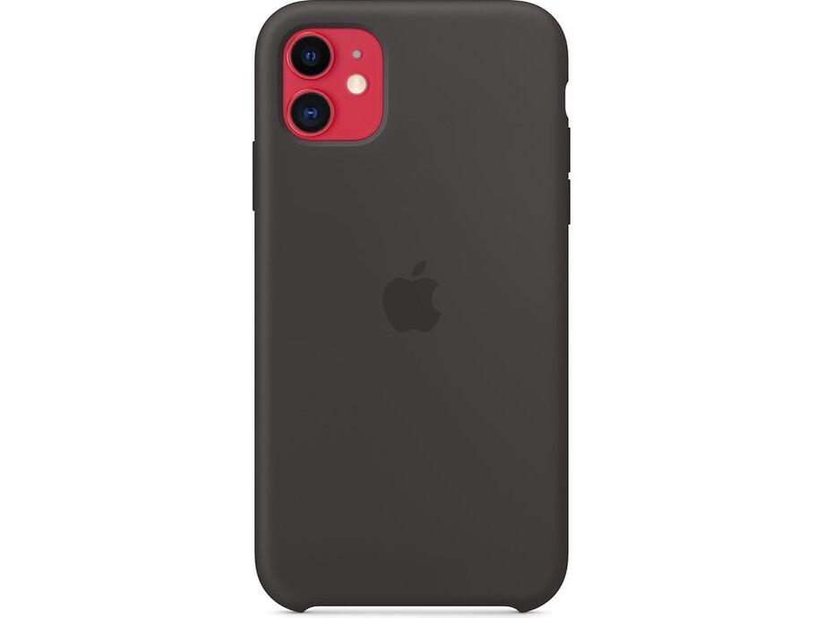 iPhone 11 Silicone Case - Black 1
