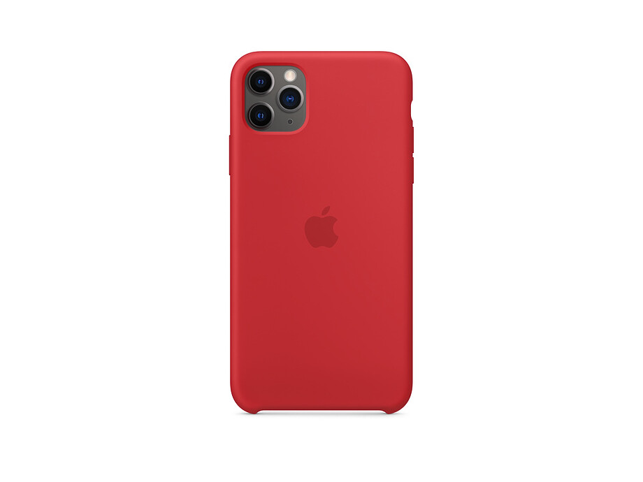 iPhone 11 Pro Max Silicone Case - (PRODUCT)RED 0