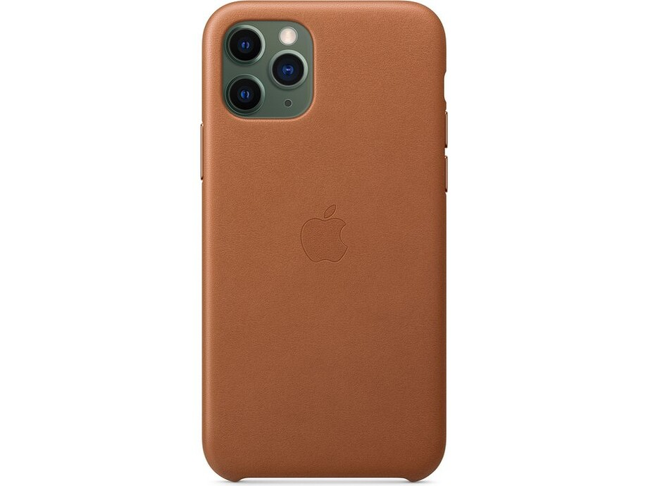 iPhone 11 Pro Leather Case - Saddle Brown 0