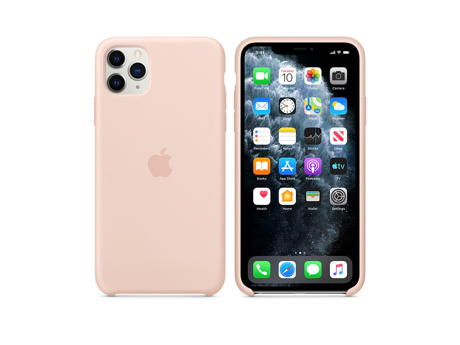 iPhone 11 Pro Max Silicone Case - Pink Sand 2