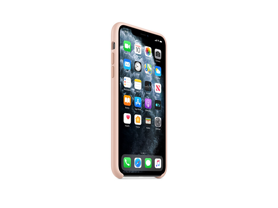 iPhone 11 Pro Silicone Case - Pink Sand 1