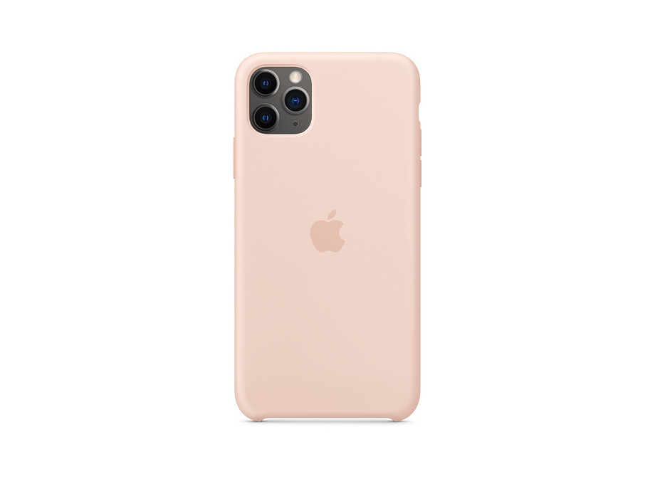 iPhone 11 Pro Max Silicone Case - Pink Sand 0