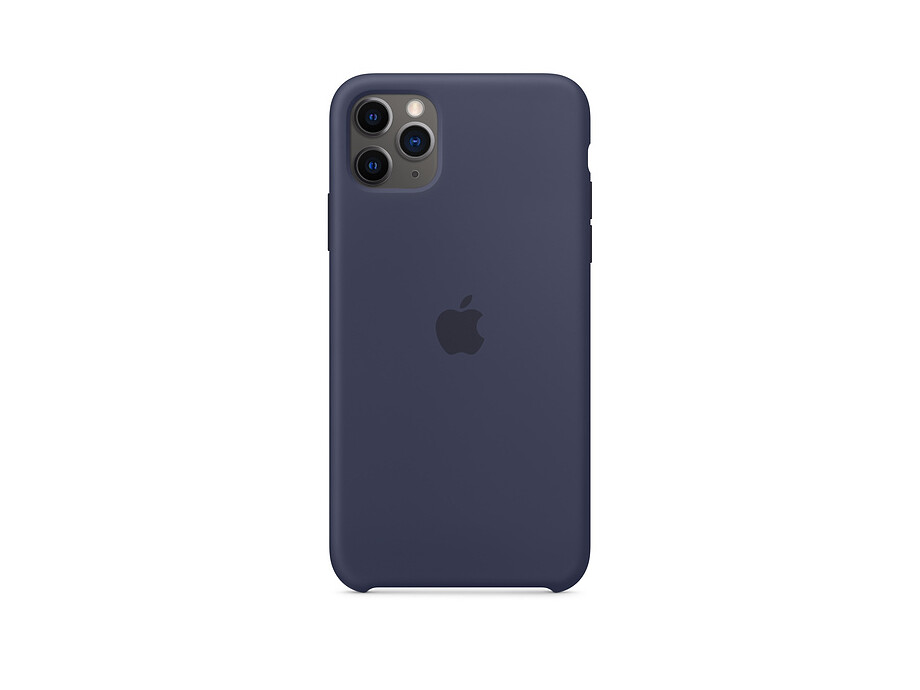 iPhone 11 Pro Max Silicone Case - Midnight Blue EOL 0