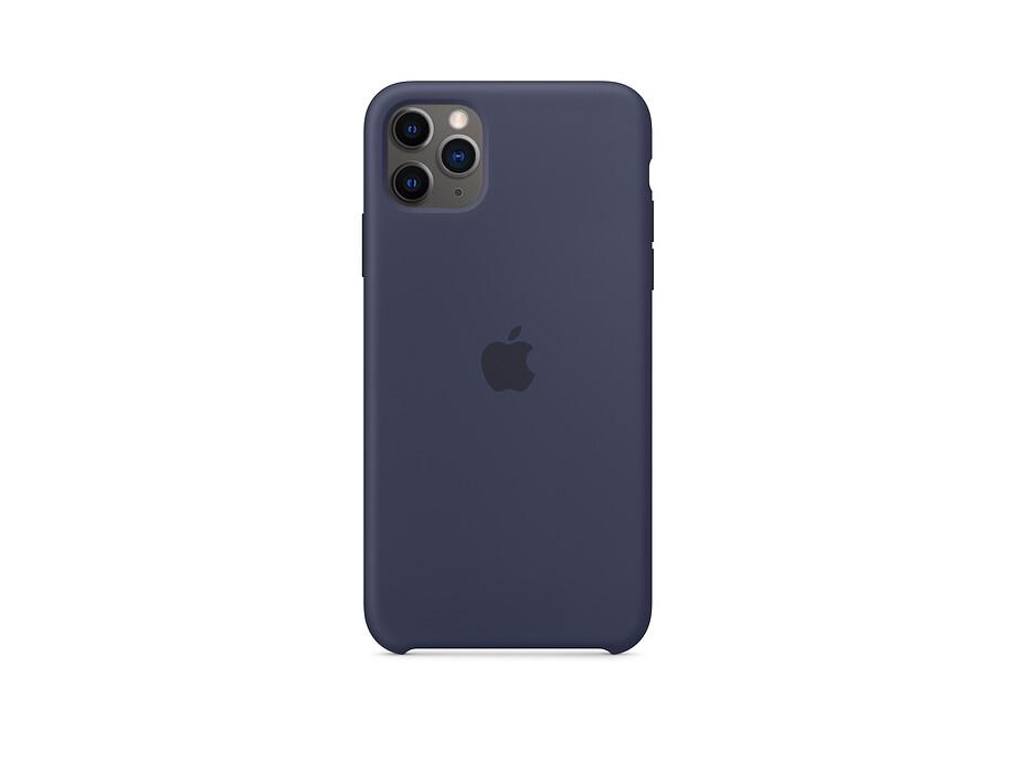 iPhone 11 Pro Max Silicone Case - Midnight Blue 0
