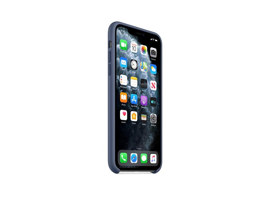 iPhone 11 Pro Max Silicone Case - Alaskan Blue EOL 1