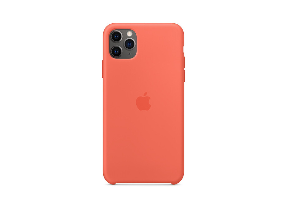 iPhone 11 Pro Silicone Case - Clementine (Orange) EOL 0