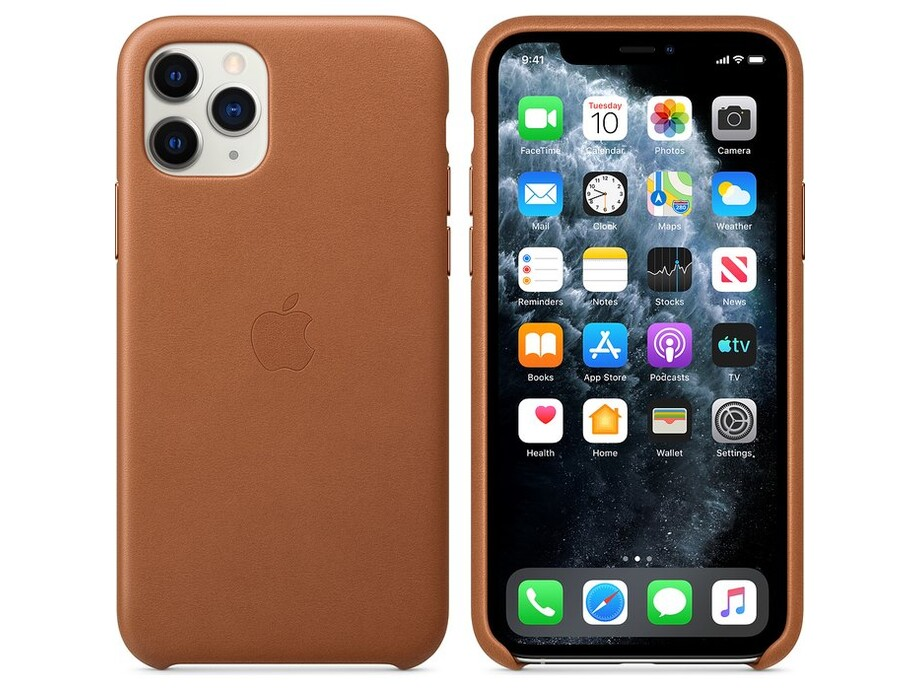 iPhone 11 Pro Leather Case - Saddle Brown 2