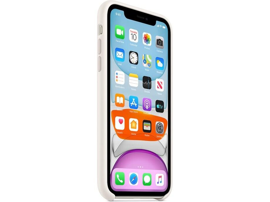 iPhone 11 Silicone Case - White 1