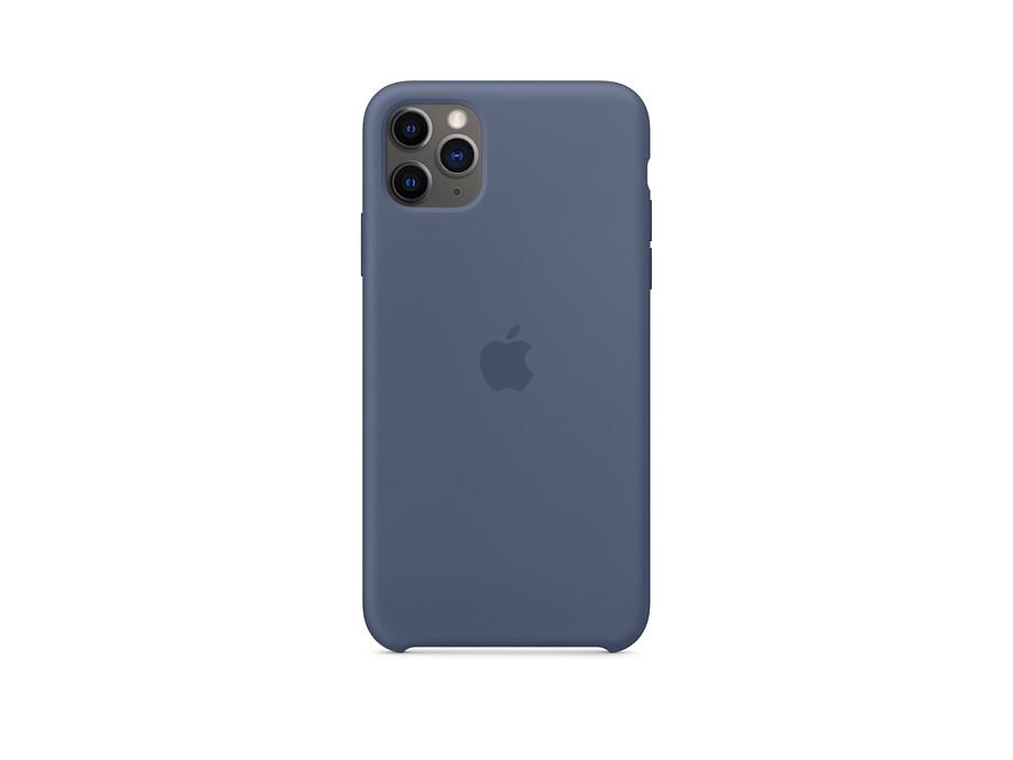 iPhone 11 Pro Max Silicone Case - Alaskan Blue EOL 0