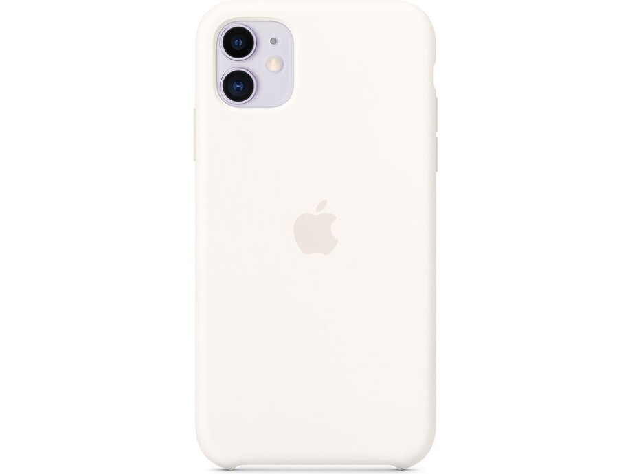 iPhone 11 Silicone Case - White 0