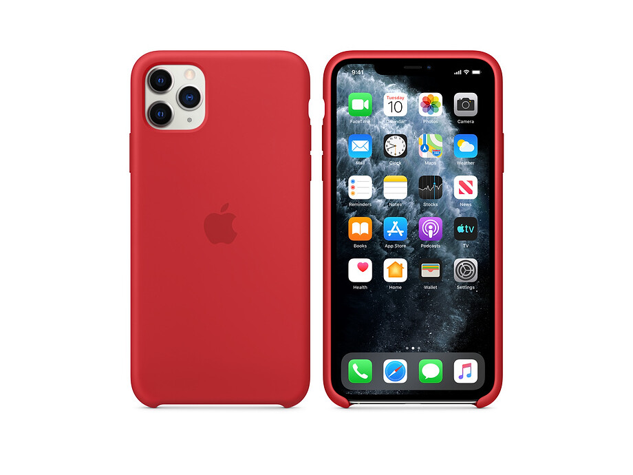 iPhone 11 Pro Silicone Case - (PRODUCT)RED 2