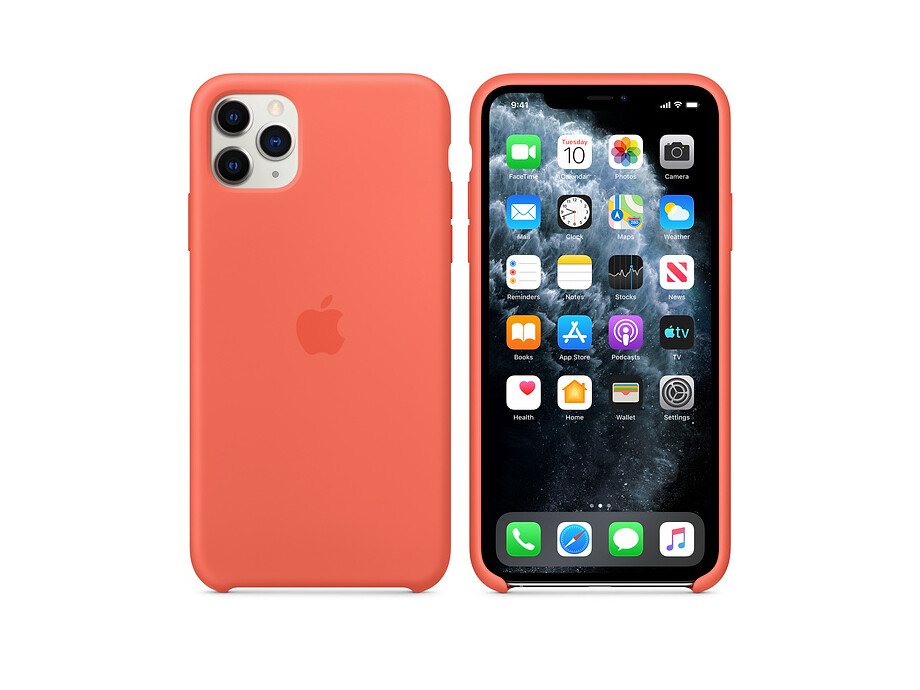 iPhone 11 Pro Silicone Case - Clementine (Orange) EOL 2