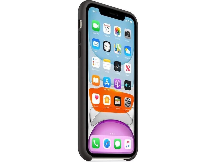iPhone 11 Silicone Case - Black 2