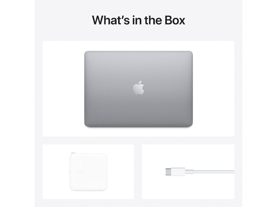 "MacBook Air 13"" Apple M1 8C CPU, 8C GPU/8GB/512GB SSD/Space Grey/RUS 2020 5"