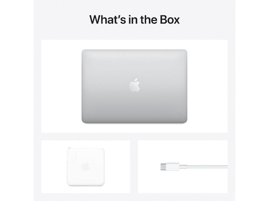 "MacBook Pro 13.3"" Retina with Touch Bar QC i5 2.0GHz/16GB/1TB/Intel Iris Plus/Silver/RUS 2020 4"