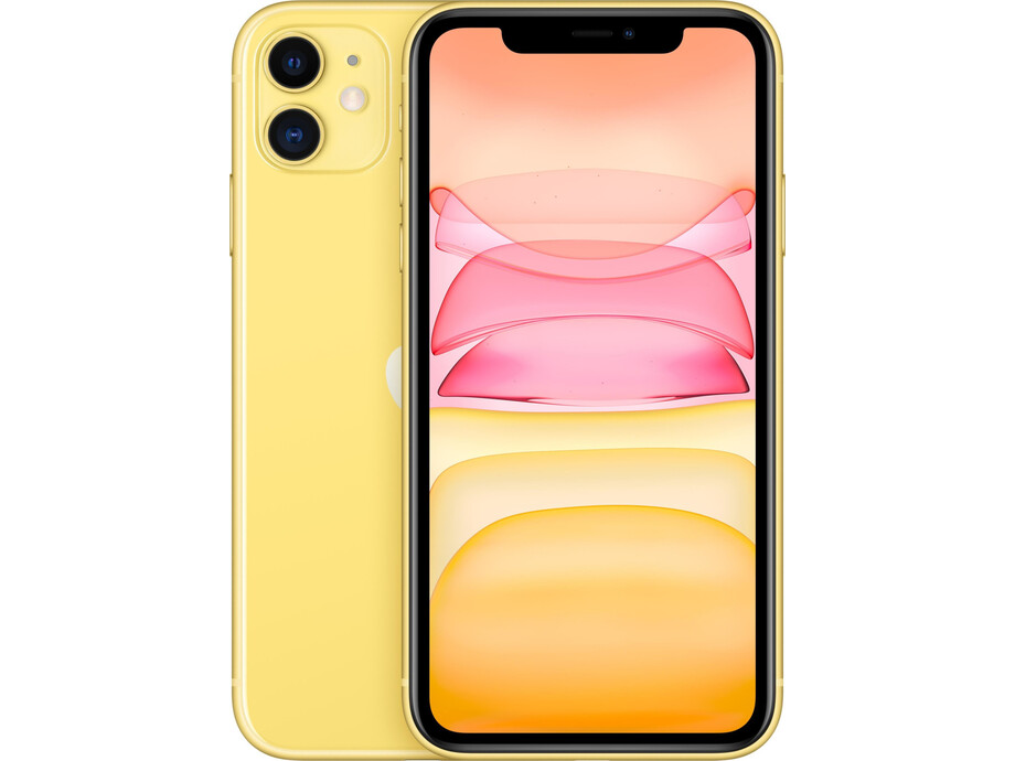 Apple iPhone 11 64GB Yellow (dzeltens) 0