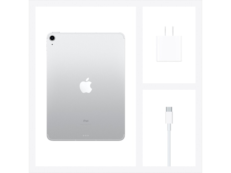 iPad Air 10.9 Wi-Fi Cell 256GB Silver 4th Gen 2020 2
