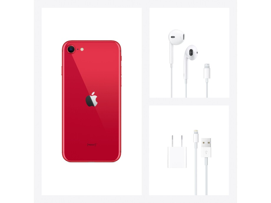 iPhone SE 256GB (PRODUCT)RED 4