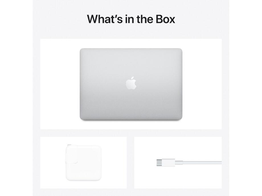 """MacBook Air 13"""" Apple M1 8C CPU, 8C GPU/8GB/512GB SSD/Silver/INT 2020. 5"""