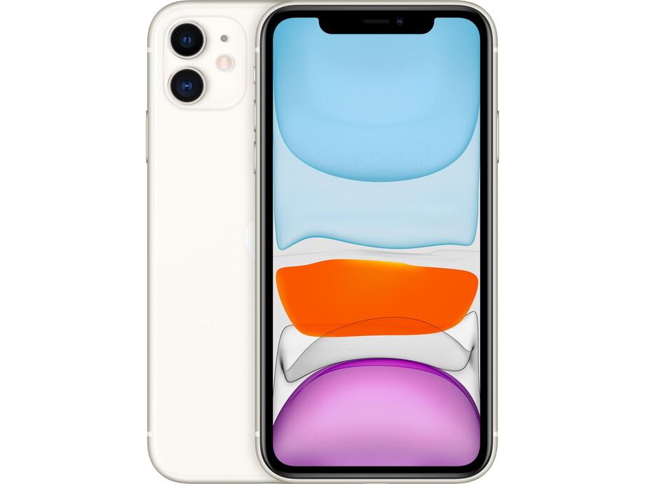 Apple iPhone 11 128GB White (balts) 0