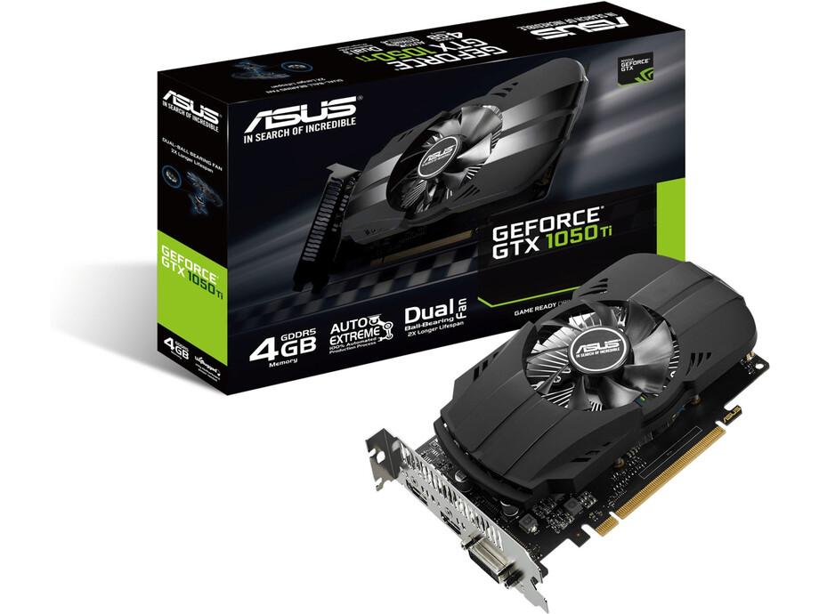 Video karte ASUS Phoenix GeForce® GTX 1050 Ti 4GB GDDR5 0