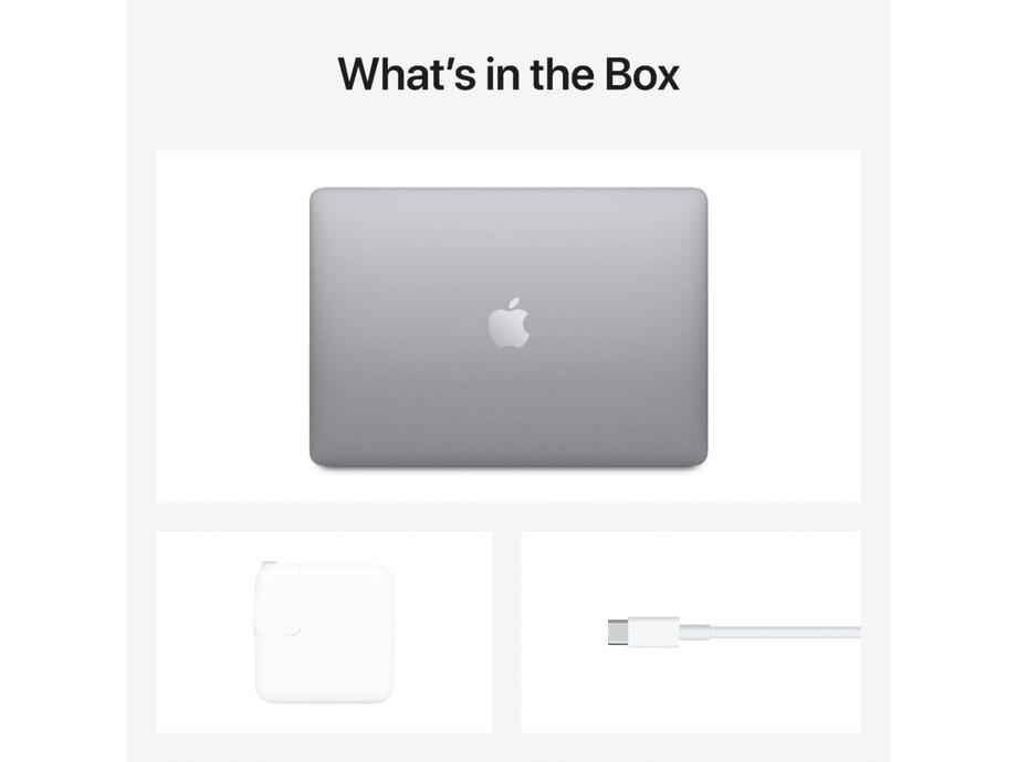"""Īpašas specifikācijas MacBook Air 13"""" Apple M1 8C CPU, 8C GPU/16GB/512GB SSD/Space Gray/RUS 2020 5"""