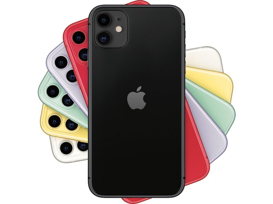 Apple iPhone 11 128GB Black (melns) 3