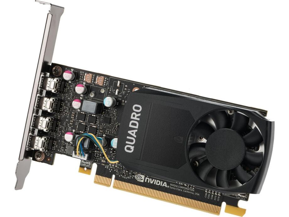Videokarte NVIDIA Quadro P620 2GB GDDR5 (128 Bit) 4x miniDP, Full height 0